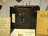 '      Kodak Roll Holder + Inst c/w Goerz Anschutz Camera + Goerz Doppel Anas SIII120mm Lens £149.99